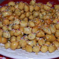 Struffoli and Mostaccioli My favorite Christmas desserts