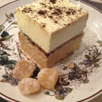 Coffee Ginger Semifreddo . . . A sweet treat to beat the Summer heat!