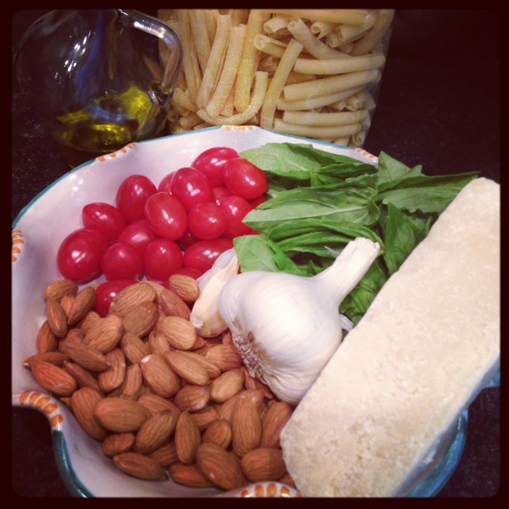 A Recipe from Sicily . . . Pesto Trapanese. (3/6)