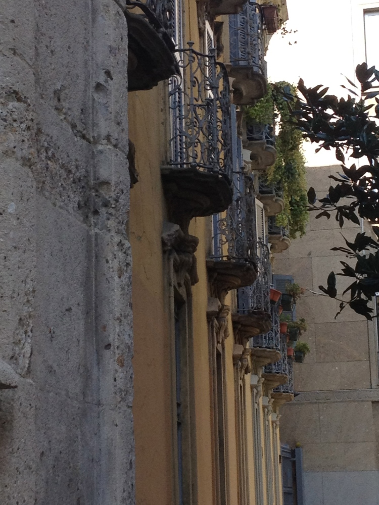 My two weeks in Italy: Windows and Balconies (2/6)