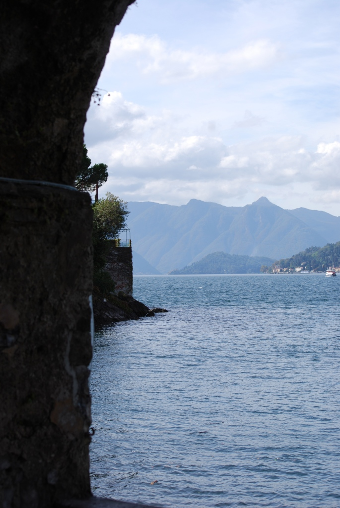 Lake Como . . . not off the beaten path but still beautiful.