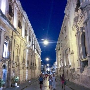 Noto - corso by night